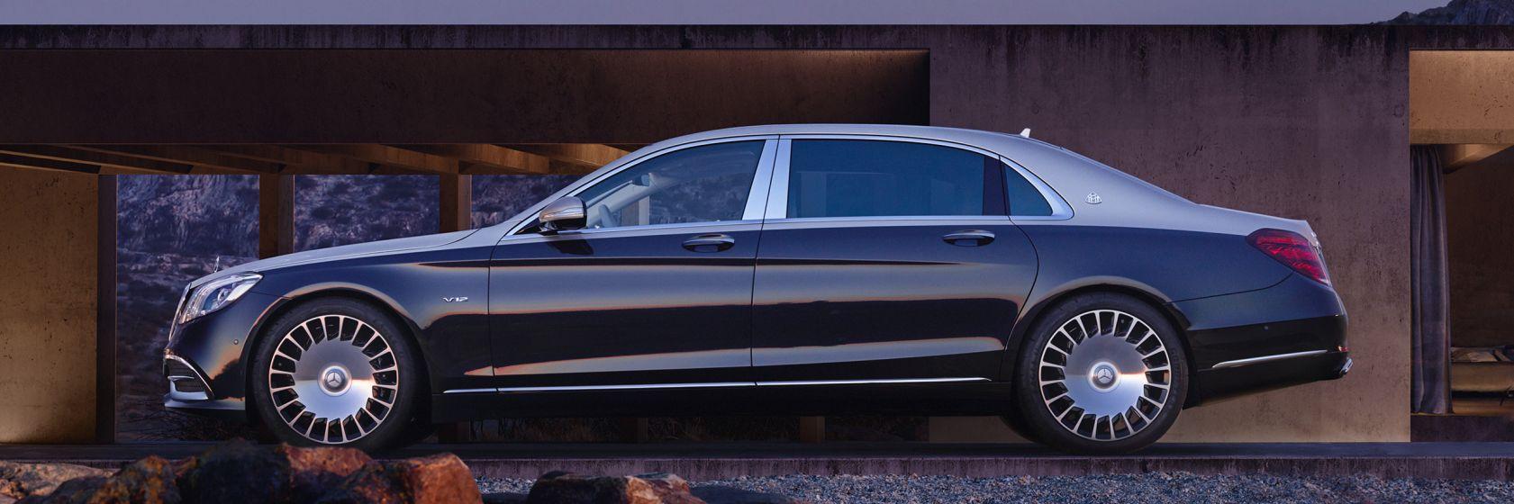 Classe S Mercedes Maybach Limousine Design