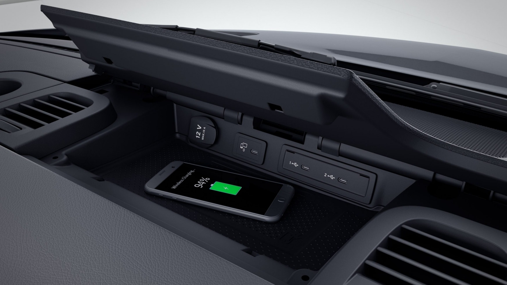 Sprinter Chassis-cabina, base para smartphones com Wireless Charging